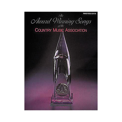Hal Leonard The Award-Winning Songs Of The Country Music Association 1st Edition Piano/Vocal/Guitar Songbook