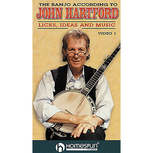 Homespun The Banjo According to John Hartford 1 (VHS)