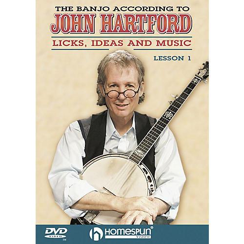 Homespun The Banjo According to John Hartford (DVD 1) DVD/Instructional/Folk Instrmt Series DVD by John Hartford