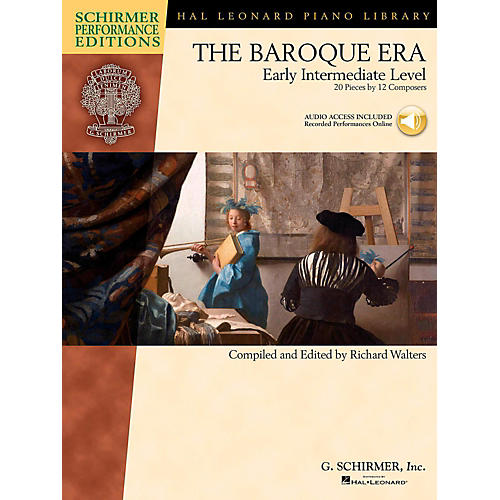 G. Schirmer The Baroque Era - Early Intermediate Level Schirmer Performance Editions Book Online Audio Access-thumbnail