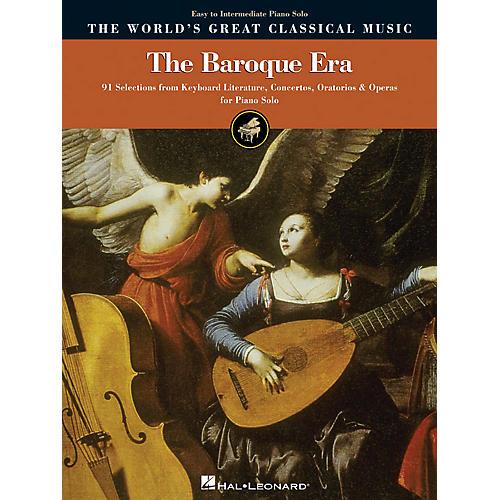 Hal Leonard The Baroque Era - Easy to Intermediate Piano World's Greatest Classical Music Series
