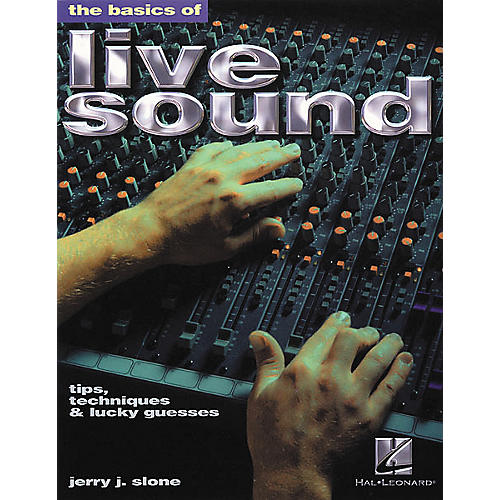 Hal Leonard The Basics of Live Sound Book-thumbnail