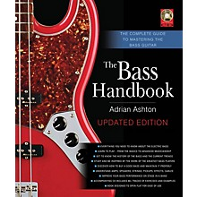 Backbeat Books The Bass Handbook Book Series Hardcover with CD Written by Adrian Ashton