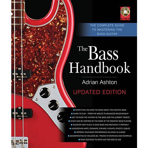 Backbeat Books The Bass Handbook Book Series Hardcover with CD Written by Adrian Ashton