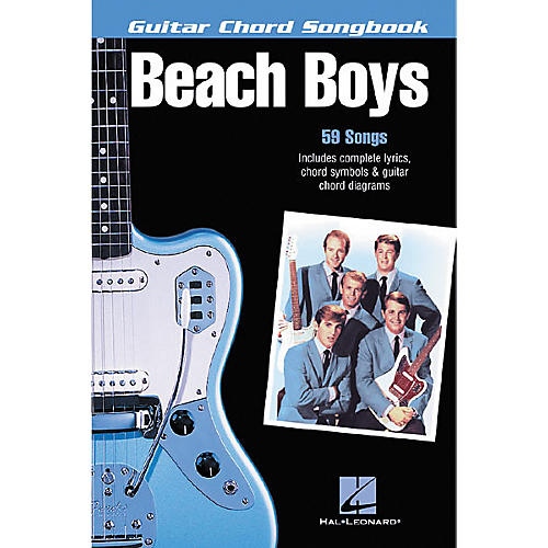 Hal Leonard The Beach Boys Guitar Chord Songbook