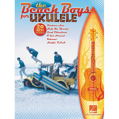 Hal Leonard The Beach Boys for Ukulele Book-thumbnail