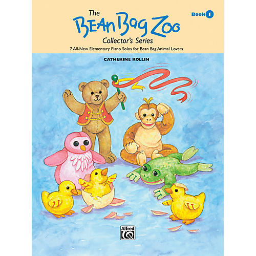 Alfred The Bean Bag Zoo Collector's Series Book 1 Book 1-thumbnail