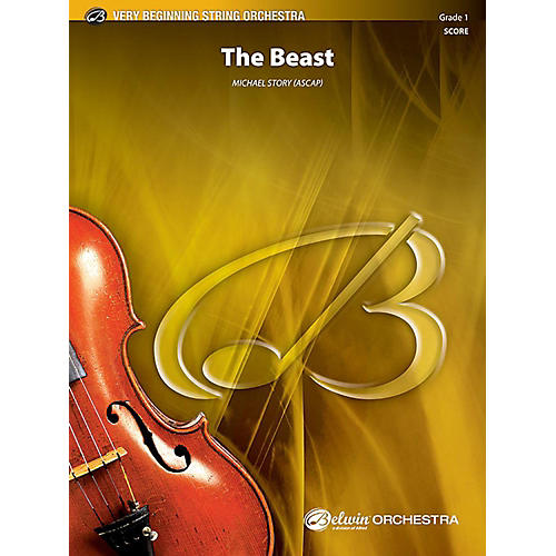 Alfred The Beast String Orchestra Grade 1 Set-thumbnail