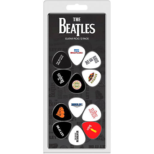 Perri's The Beatles - 12-Pack Guitar Picks Various Albums
