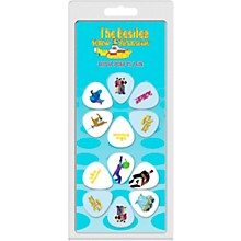 Perri's The Beatles - 12-Pack Guitar Picks Yellow Submarine