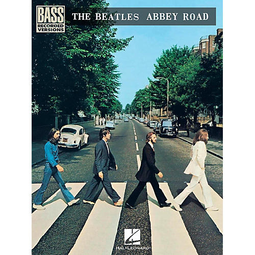 Hal Leonard The Beatles - Abbey Road Bass Guitar Tab Songbook-thumbnail