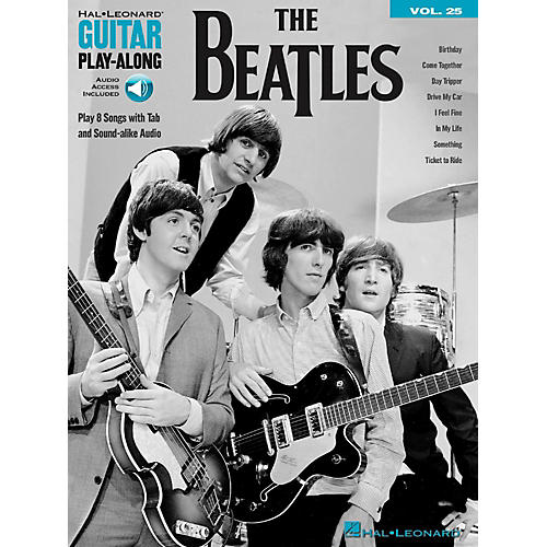 Hal Leonard The Beatles - Guitar Play-Along Vol. 25 Book/Audio Online-thumbnail