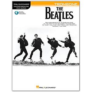 Hal Leonard The Beatles - Instrumental Play-Along Series Trombone Book/Audi...