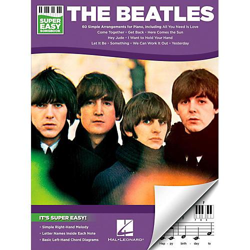 Hal Leonard The Beatles - Super Easy Songbook-thumbnail