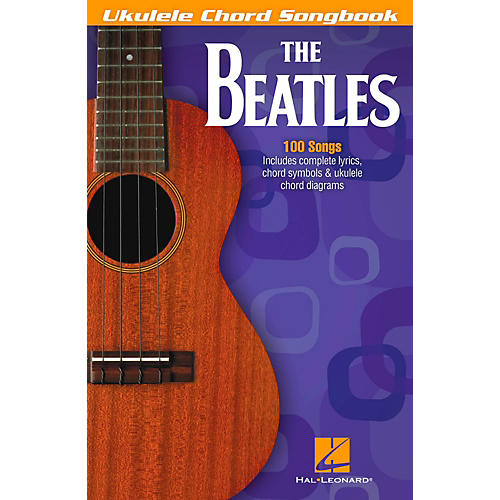 Hal Leonard The Beatles - Ukulele Chord Songbook-thumbnail