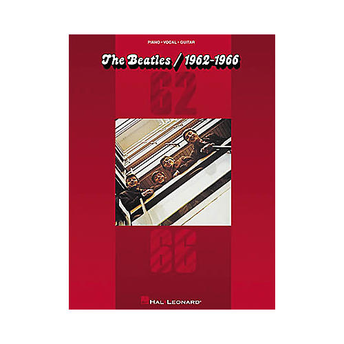 Hal Leonard The Beatles/1962-1966 Piano/Vocal/Guitar Artist Songbook