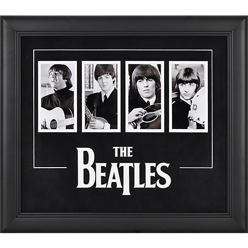 Mounted Memories The Beatles 4-Photograph Framed Presentation-thumbnail