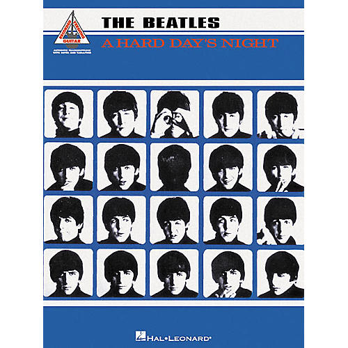 Hal Leonard The Beatles A Hard Day's Night Guitar Tab Book