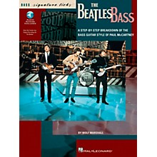 Hal Leonard The Beatles Bass Signature Licks Book with CD