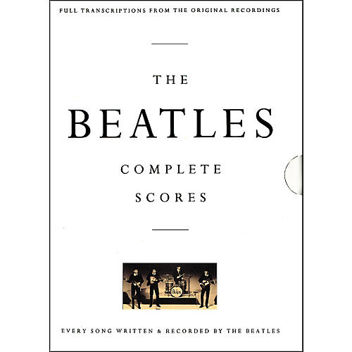 Hal Leonard The Beatles Complete Scores Book-thumbnail