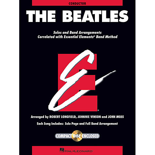 Hal Leonard The Beatles Concert Band Level 1.5 by The Beatles Arranged by Johnnie Vinson