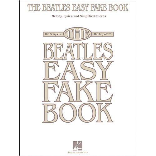 Hal Leonard The Beatles Easy Fake Book-thumbnail