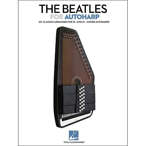 Hal Leonard The Beatles For Autoharp Songbook-thumbnail