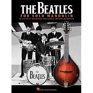 Hal Leonard The Beatles For Solo Mandolin by Hal Leonard