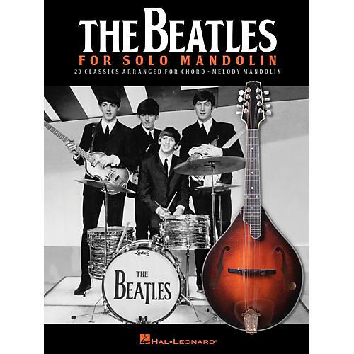 Hal Leonard The Beatles For Solo Mandolin-thumbnail