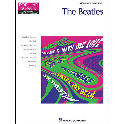 Hal Leonard The Beatles Intermediate Piano Solos Popular Songs Hal Leonard Student Piano Library by Eugenie Rocherolle-thumbnail
