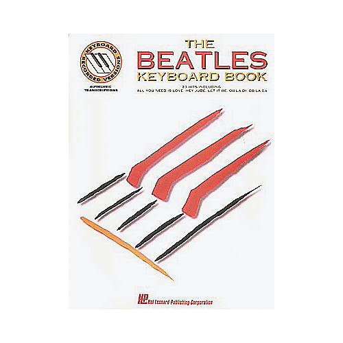 Hal Leonard The Beatles Keyboard Songbook-thumbnail
