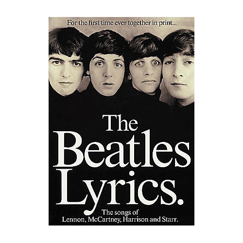 Hal Leonard The Beatles Lyrics-thumbnail