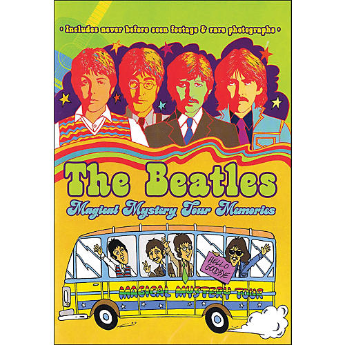 Hal Leonard The Beatles Magical Mystery Tour Memories Rockumentary 1967 DVD-thumbnail