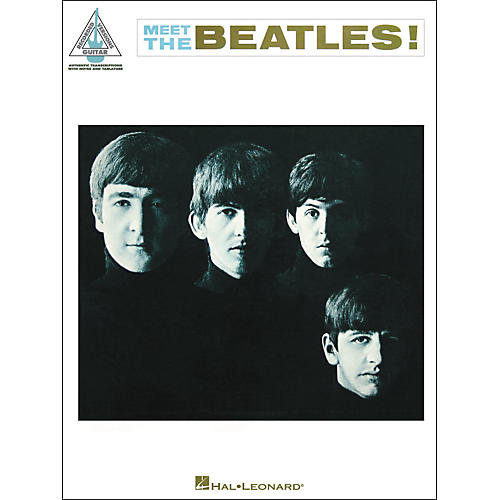 Hal Leonard The Beatles -Meet The Beatles Guitar Tab Songbook-thumbnail