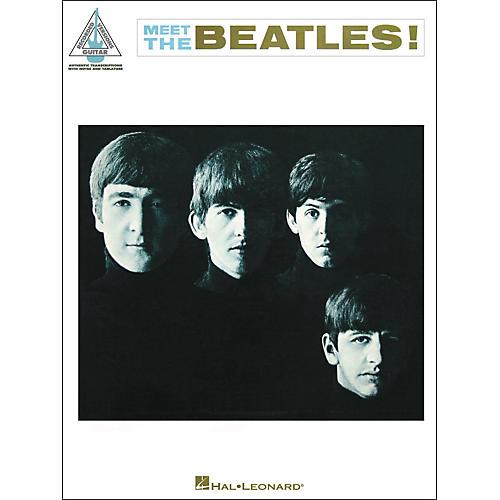 Hal Leonard The Beatles -Meet The Beatles Guitar Tab Songbook