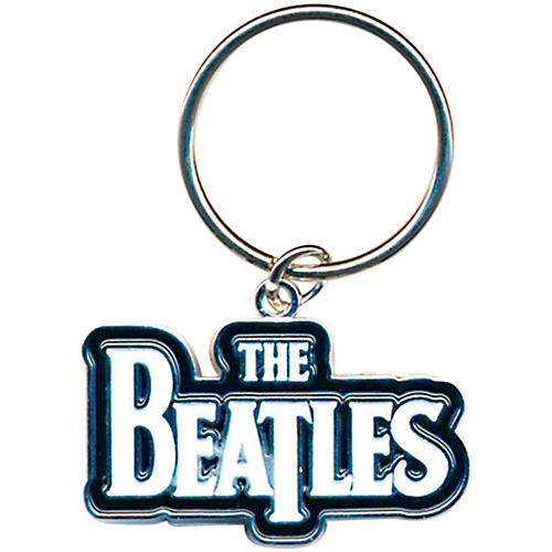 ROCK OFF The Beatles Metal Keychain