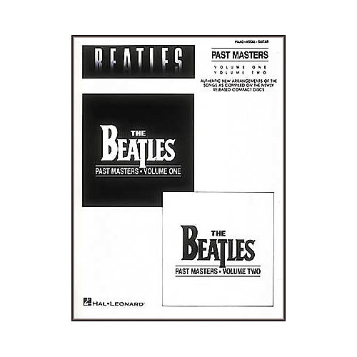 Hal Leonard The Beatles-Past Masters Piano/Vocal/Guitar Artist Songbook