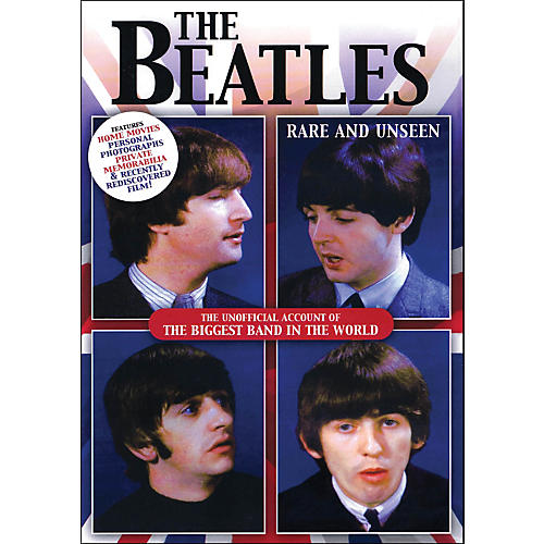 Hal Leonard The Beatles Rare And Unseen The Unofficial Account Of The biggest Band In The World DVD-thumbnail