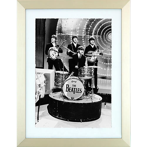 Mirrorpix The Beatles Ringo and Pals Framed Print