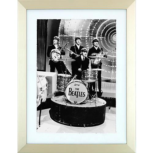 Mirrorpix The Beatles Ringo and Pals Framed Print-thumbnail