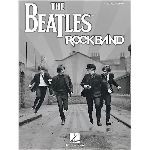 Hal Leonard The Beatles Rock Band arranged for piano, vocal, and guitar (P/V/G)-thumbnail