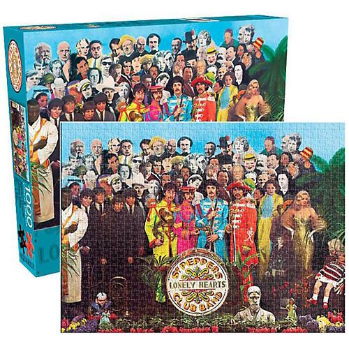 Hal Leonard The Beatles  Sgt. Pepper 1000-Piece Jigsaw Puzzle-thumbnail