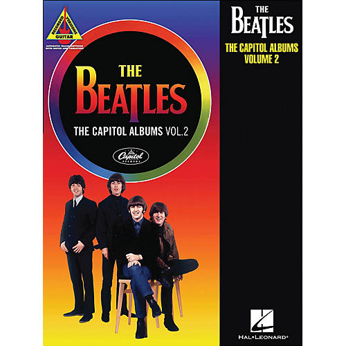 Hal Leonard The Beatles: The Capitol Albums Volume 2 Guitar Tab Songbook-thumbnail