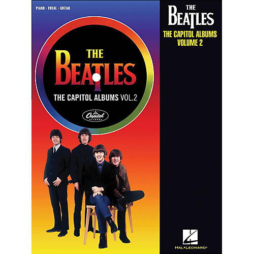Hal Leonard The Beatles The Capitol Albums Volume 2 arranged for piano, vocal, and guitar (P/V/G)-thumbnail