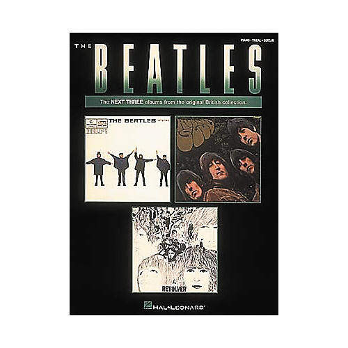 Hal Leonard The Beatles-The Next Three Albums Piano/Vocal/Guitar Artist Songbook