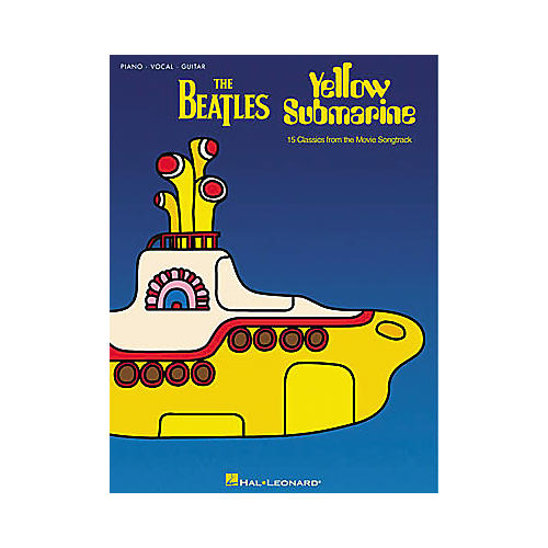 Hal Leonard The Beatles Yellow Submarine Piano, Vocal, Guitar Songbook-thumbnail