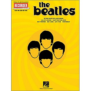 Hal Leonard The Beatles for Recorder by Hal Leonard