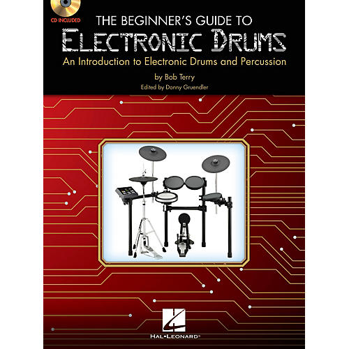 Hal Leonard The Beginner's Guide to Electronic Drums Book W/CD-thumbnail