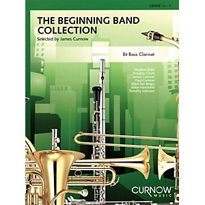 Curnow Music The Beginning Band Collection Grade 0.5 Bb Bass Clarinet C...