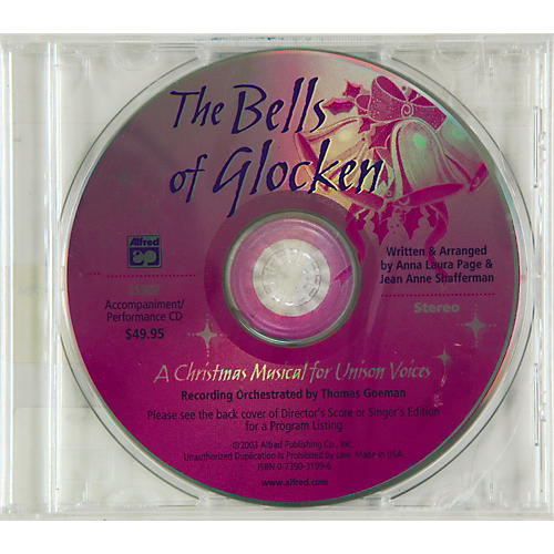 Alfred The Bells of Glocken:  Accompaniment/Performance CD-thumbnail